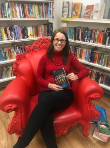 Story tellers chair at Battersea Library