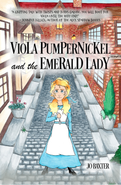 Viola Pumpernickel and the Emerald Lady COVER REVEAL